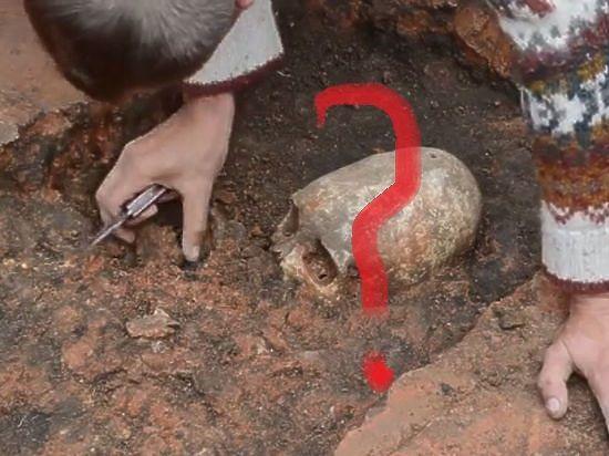 В Челябинской области археологи нашли скелет инопланетянина,.