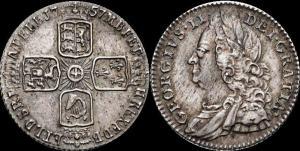 Ганновер, Георг – II, 6 пенсов 1757, XF.jpg
