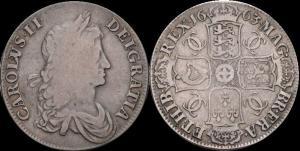 Стюарт Карл - II Крона 1663.jpg