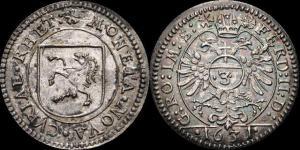 Кантон Graubünden Chur Ferdinand II Holy Roman Emperor, 1619-1637  Groschen 1631 (21мм, 1,76гр.).jpg