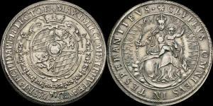 Бавария - Максимилиан - I - талер 1625 (Мюнхен) (Dav. 6069) XF.jpg