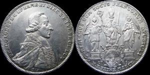 Вюрцбург - талер 1785 Франц Людвиг фон Эртал (Dav. 2905).jpg