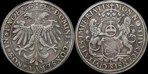 Швейцария - Цюрих, талер без даты, чеканка около 1560 года (Hans-Jakob Stampfer), Dav. 8783.jpg