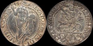 Швеция - Густав Ваза (1521 - 1560) - далер 1544 мд Свартсьо (Dav. 8697).jpg