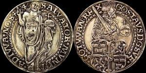 Швеция - Густав Ваза (1521 - 1560) - далер 1544 мд Свартсьо (Dav. 8697)1.jpg