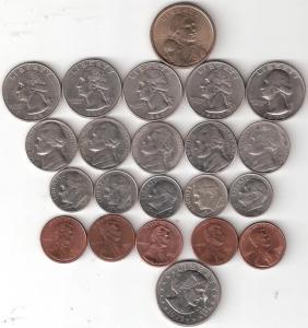 22 монеты США р.jpg