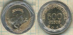 Колумбия 500 песос 2012  37.jpg