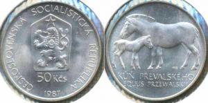 Чехословакия 50 крон 1987  10.jpg