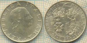 Италия 200 лир 1993  70.jpg