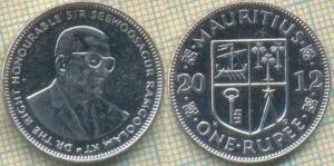 Маврикий 1 рупия 2012  56.jpg