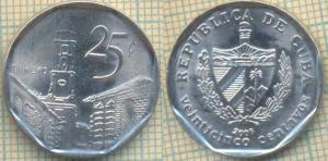 Куба 25 сентаво 2008  2232.jpg