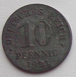 IMG02210выст Германия 10 пфеннигов 1921.jpg