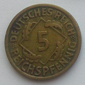 IMG02127Выст Германия 5 рейхспфенигов 1925 А.jpg