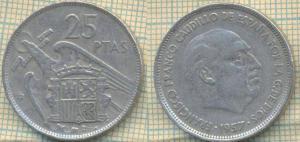 Испания 25 песет 1957  1062.jpg