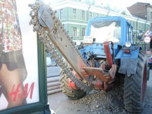 Баровые пилы с твердым сплавом для резки асфальта на базе трактора Беларусь. %281%29.JPG