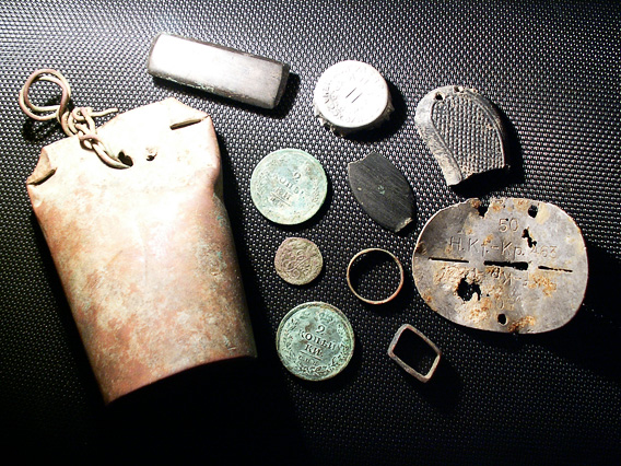 Находки немецких жетонов фото