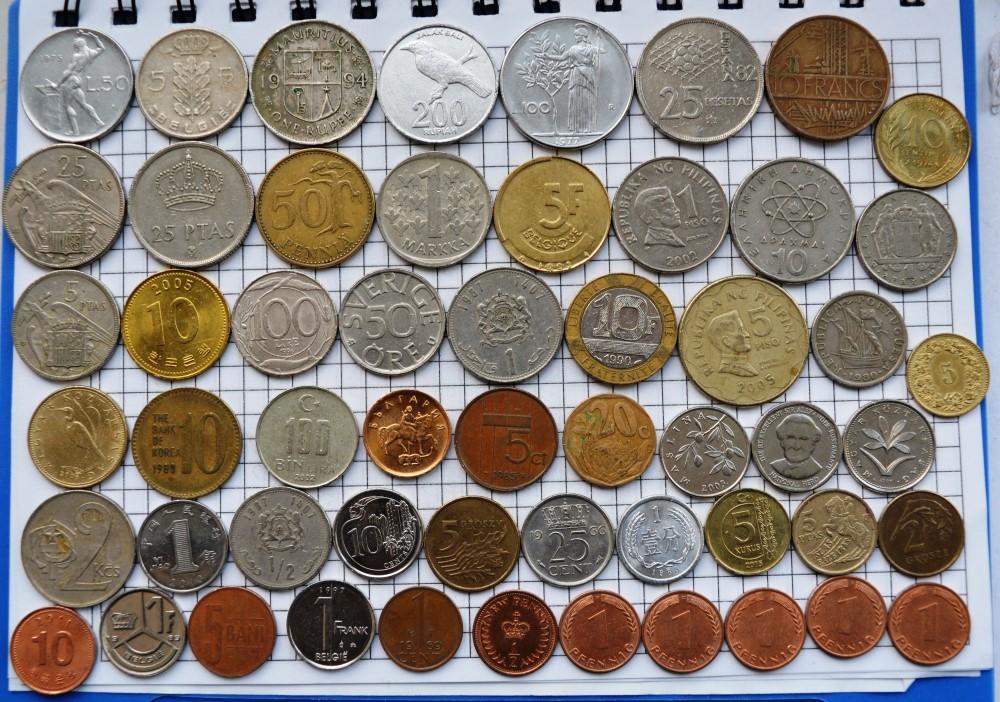 разнообразных монеты всех стран мира фото и название рецепты приготовления