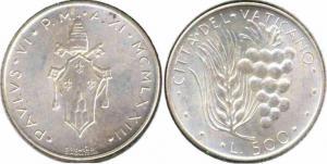 Ватикан 500 лир 1973  6.jpg