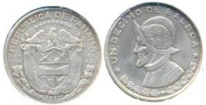 Панама 1   10 бальбоа 1961  15.jpg