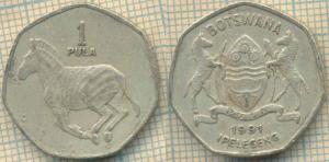 Ботсвана 1 пула 1991  609.jpg
