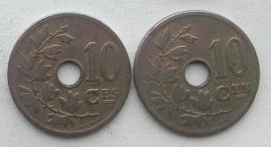 IMG02848выст Бельгия 10 сентов 1904 и 1905.jpg