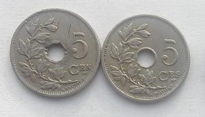 IMG02903выст Бельгия 5 сентим 1920 2 шт.jpg